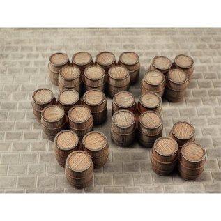 Skytrex Skytrex SMRA57 Clusters wooden barrels (Gauge O)