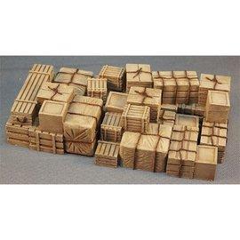 Skytrex Skytrex SMRL13 Interlocking piles of crates (Gauge O)