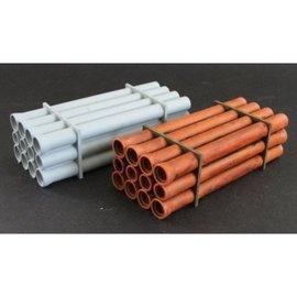 Skytrex Skytrex SMRL26 Wagon load steel pipes (Gauge O)
