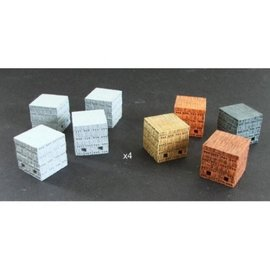 Skytrex Skytrex SMRA29 Stacks of bricks (Gauge O)
