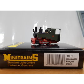 Minitrains Minitrains 1081 Decauville Progres narrow gauge loco