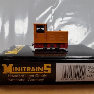 Minitrains Minitrains 2024 Ns2f smalspoor diesellok oranje