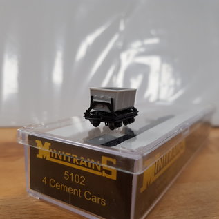 Minitrains Minitrains 5102 set of 4 narrow gauge cement waggons