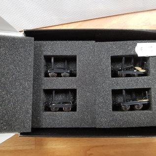 Minitrains Minitrains 3112 set of 4 narrow gauge bolster waggons
