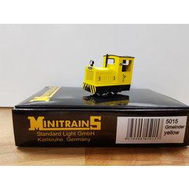 Minitrains Minitrains 5015 Gmeinder smalspoor diesellok geel