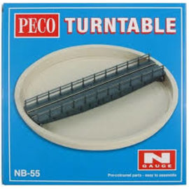 Peco Peco NB-55 Well type Turntable Kit (Gauge N)