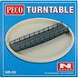 Peco Peco NB-55 Well type Turntable Kit (Gauge N)