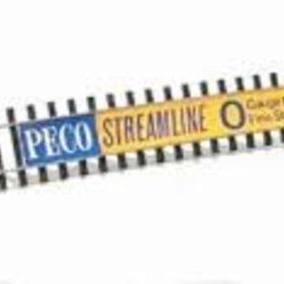 "Peco Peco SL-700BH Flexrail  914mm code 124 ""Bulhead""  Spoor 0"