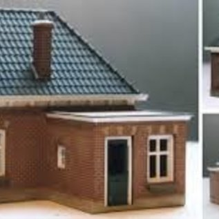"""Holland scale 21 House """"Sand road"""" H0"""