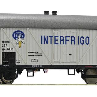 Roco Roco 76713 - Koelwagen Interfrigo / Fyffes, DB