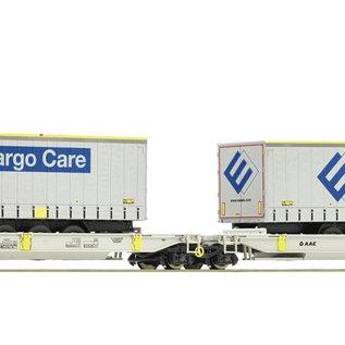 Roco Roco 76437 - Doppeltaschen-Gelenkwagen, AAE geladen met Ewals