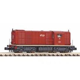 Piko Piko 40428 Diesellok Serie 2400/2500 der NS, Braun, N-Spur, DCC-ready