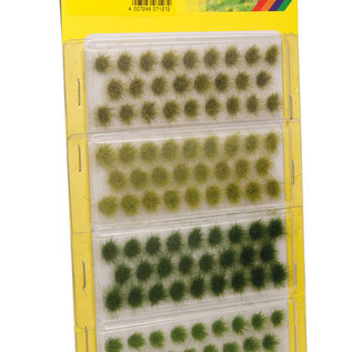 "NOCH Noch 07127 Grass Tufts ""light and dark green"" 6 mm"