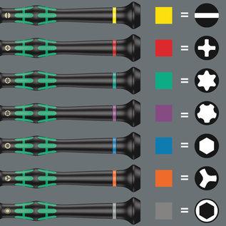 Wera Wera 05134000001 Kraftform Micro Big Pack 1 Elektroniker-Schraubendrehersatz, 25-teilig