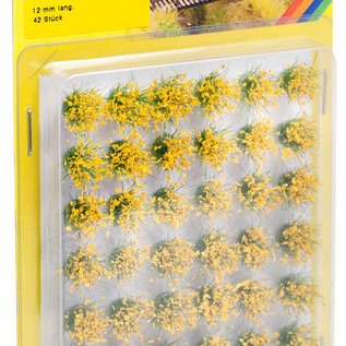 NOCH Noch 07026 Bosjes Gras 12mm Bloeiend Geel