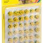 NOCH Noch 07026 Grasbüschel 12mm Bluhend Gelb