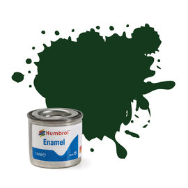 Humbrol Humbrol no 3 Brunswick Green Gloss 14ml (Brunswick Groen, Glanzend)