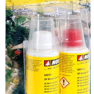 NOCH NOCH 60870 2K Water Gel, 2 componenten van elk 100 ml