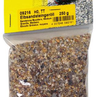 NOCH Noch 09216 Zandsteen Keien/Rolstenen, 250 g