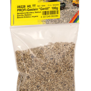 "NOCH Noch 09228 PROFI-Rocks ""Rubble"", fine, 80 g, grain 1 – 2 mm"
