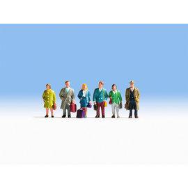 NOCH Noch 15220 Reisende (Spur H0), 6 Figuren