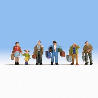 NOCH Noch 15224 Reisende (Spur H0), 6 Figuren
