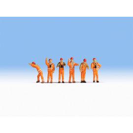 NOCH Noch 15275 Rangeerpersoneel (Schaal H0), 6 figuren