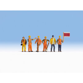 NOCH Noch 15277 Gleisarbeiter (Spur H0), 6 Figuren