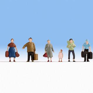 NOCH Noch 18115 Reisende (Spur H0), 6 Figuren