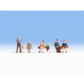 NOCH Noch 18116 Reisende (Spur H0), 6 Figuren