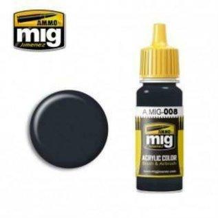 MIG Jimenez MIG 0008 DARK GREY RAL 7021 (17 ML) (DUNKELGRAU)