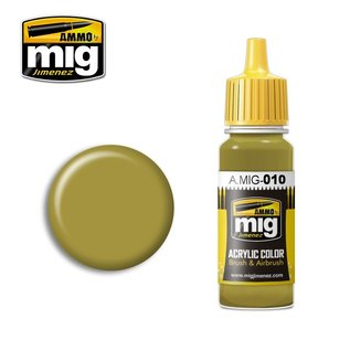 MIG Jimenez MIG 0010 DARK YELLOW (MID WAR) RAL 7028 (17 ML)