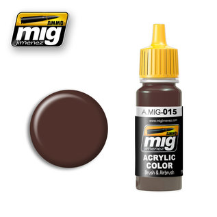 MIG Jimenez MIG 0015 CHOCOLATE BROWN RAL 8017 (17 ML)