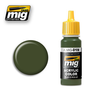 MIG Jimenez MIG 0019 4BO RUSSIAN GREEN (17 ML) (GROEN)