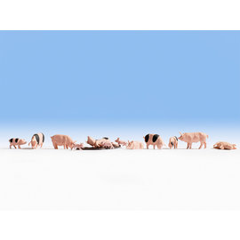 NOCH Noch 15712 Varkens (Schaal H0), 12 figuren