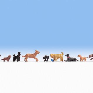NOCH Noch 15719 Honden (Schaal H0), 9 figuren