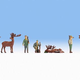 NOCH Noch 15731 Jagd (Spur H0), 7 Figuren