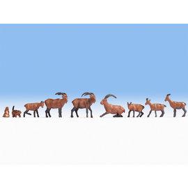 NOCH Noch 15742 Alpendieren (Schaal H0), 9 figuren