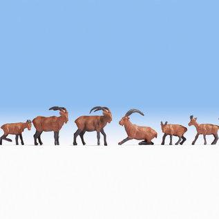 NOCH Noch 15742 Alpentiere (Spur H0), 9 Figuren