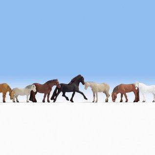NOCH Noch 15761 Pferde (Spur H0), 9 Figuren
