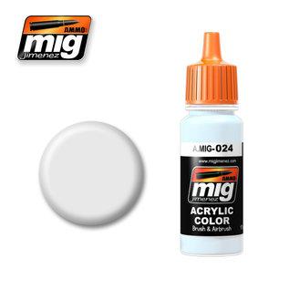MIG Jimenez MIG 0024 WASHABEL WHITE CAMO (17 ML) (WEISS ABWASCHBAR)