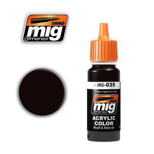 MIG Jimenez MIG 0035 DARK TRACKS (17 ML) (ROEST DONKER)