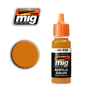 MIG Jimenez MIG 0039 LIGHT RUST (17 ML)  (FRISCHER ROST)