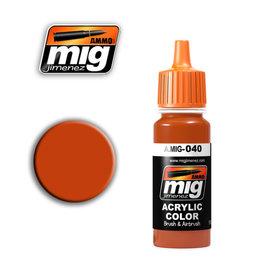 MIG Jimenez MIG 0040 MEDIUM RUST (17 ML) (ROEST)