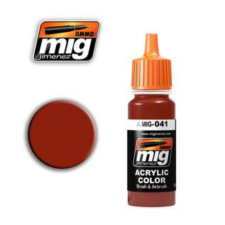 MIG Jimenez MIG 0041 DARK RUST (17 ML)  (ROST DUNKEL)