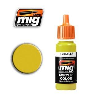 MIG Jimenez MIG 0048  YELLOW (17 ML) (GEEL)