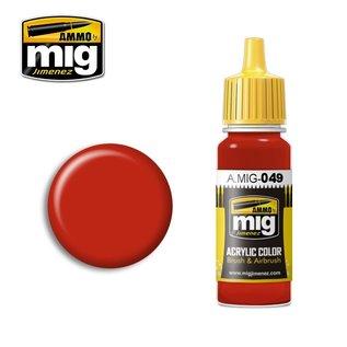 MIG Jimenez MIG 0049 RED (17 ML) (ROOD)