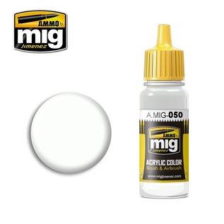 MIG Jimenez MIG 0050 MATT WHITE (17 ML) (MATTWEISS)