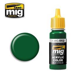 MIG Jimenez MIG 0052 DEEP GREEN (17 ML) (DONKER GROEN)