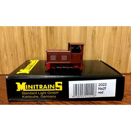 Minitrains Minitrains 2022 Ns2f smalspoor diesellok rood